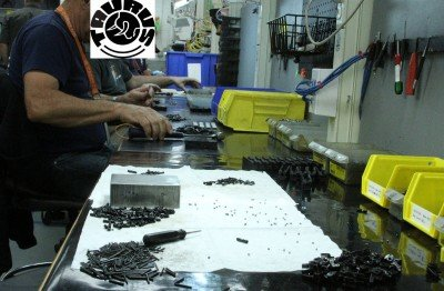 You can use CNC machines to make parts, but it is always the people who put the parts together, make sure that the parts were made correctly, and make sure that the gun is running right.