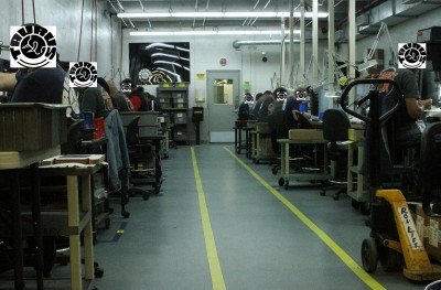 The assembly room for the TCP. Most people don't realize is that gunsmiths still make most guns.