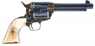 The 1873 is a working gun and can be a work of art, too.