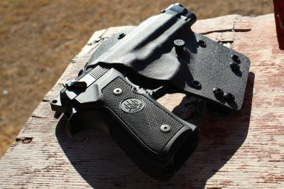 The 2A holster is distinct in the sea of Kydex.
