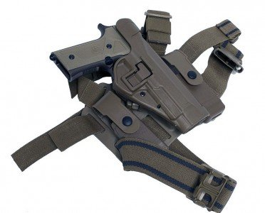 The SERPA holster in use by the Marines will hold the new M9A3.