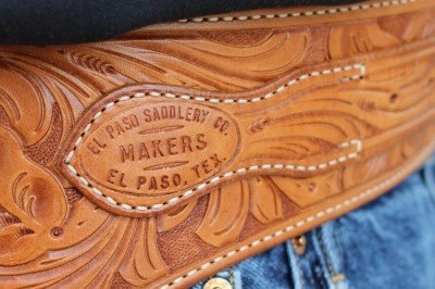 The El Paso Saddlery log is small and innocuous.