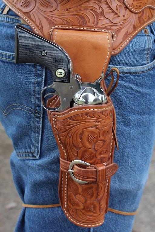 Choosing a Cowboy Action Holster~El Paso Saddlery - GunsAmerica Digest