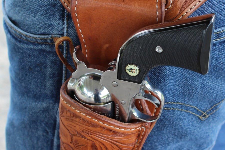 Choosing a Cowboy Action Holster~El Paso Saddlery