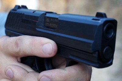 The sub compact P2000sk is easily concealable, but not racing to the bottom of dimensional sizes.