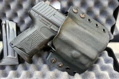 A repurposed Multi Holster, complete with the ECR magnet system makes an effective way to carry.