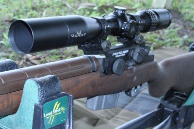I settled on this first focal plane Burris Veracity 2-10x to leave on the gun. It is a ton of scope for the money.