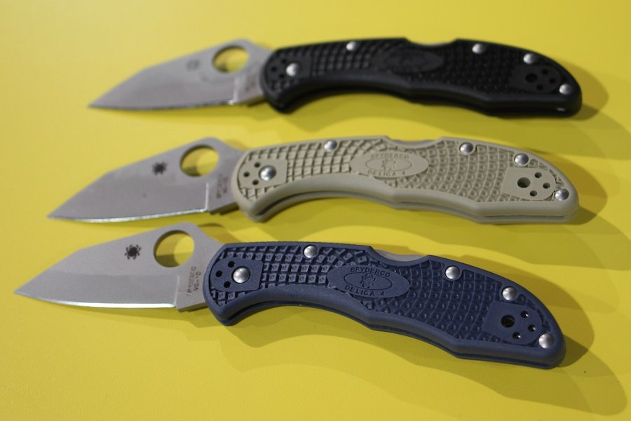 The Kahr Spyderco collaboration--a great everyday carry option.