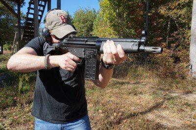 The PTR 51P, a .308 pistol, is about as big as a pistol gets.