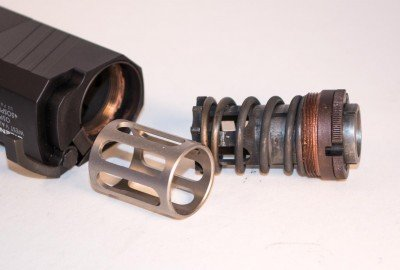 When shooting from a fixed-barrel gun, just replace the booster spring with this optional spacer.