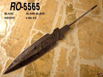 This is a blank being sold by one of the Pakistan sellers. It is meant for knifemakers to build a handle and sheath on. if you look at the handle part, it would explain the light weight of some of the knives, but it is still one solid piece.