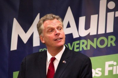 Virginia Gov. Terry McAuliffe keeps his promise to gun-control czar Michael Bloomberg and unveiled his gun violence prevention strategy on Monday. (Photo: ReadTheHook)