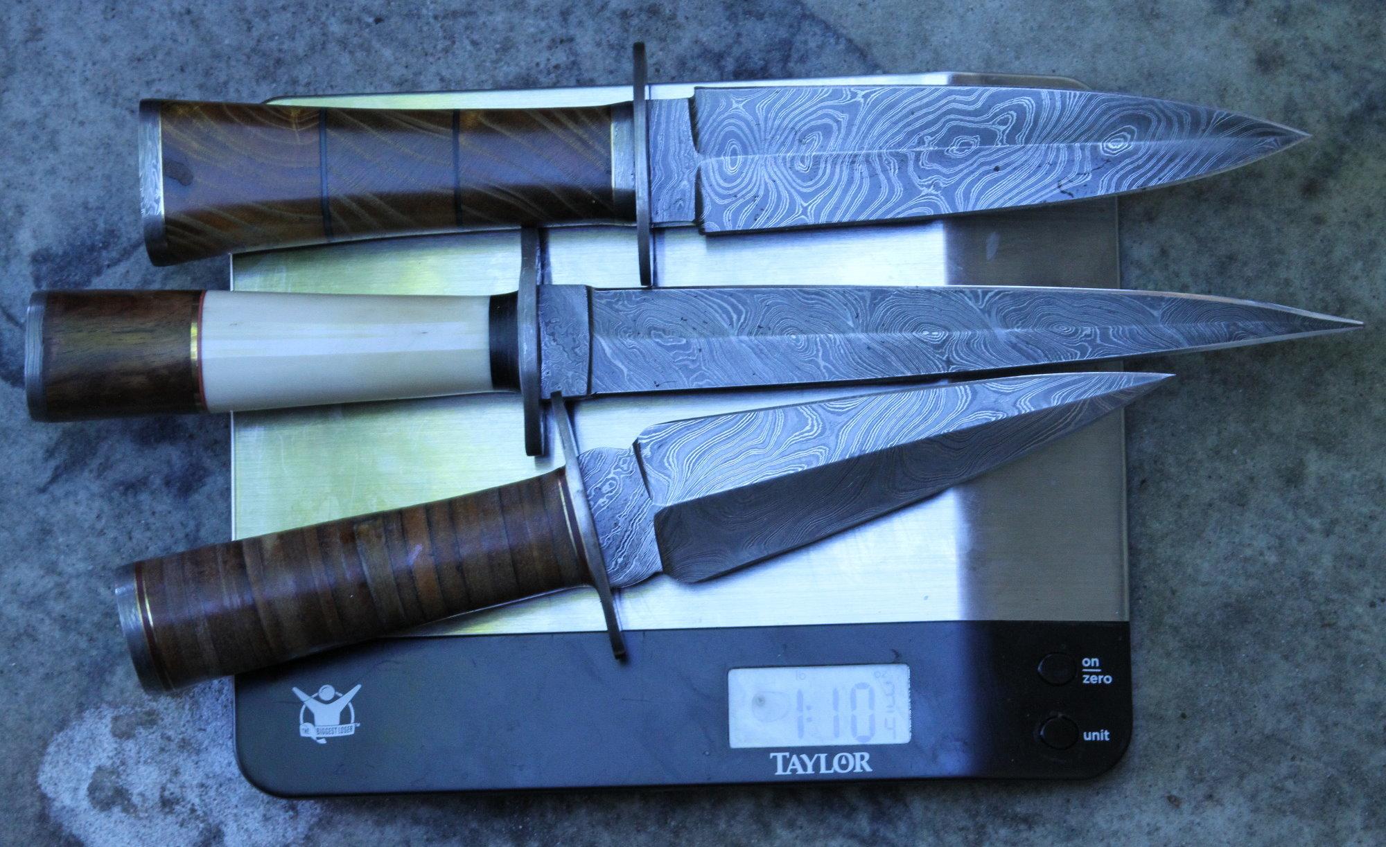 Cheap Damascus Knives for Christmas! - GunsAmerica Digest