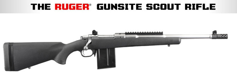 This Gunsite, one promoted in some of the press materials we recieved, has a stainless barrel. Ours was a deep black.