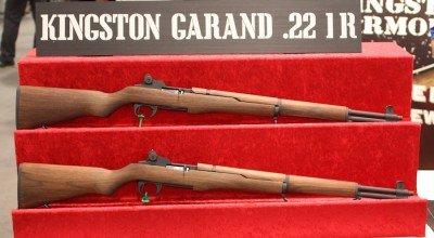 Two 22 Garands.