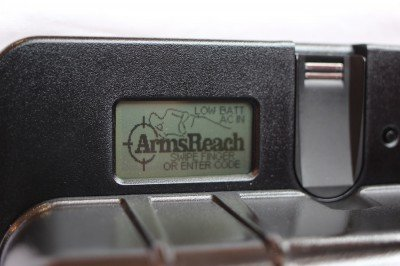 The ArmsReach control panel where alerts are issued.