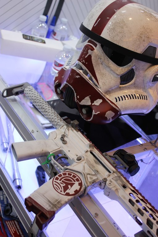 Would Storm Troopers be able to hit what they aim at with these blasters?