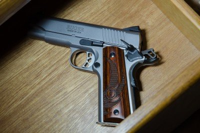 This affordable and high quality Ruger SR1911CMD puts over a century of confidence in the nightstand.