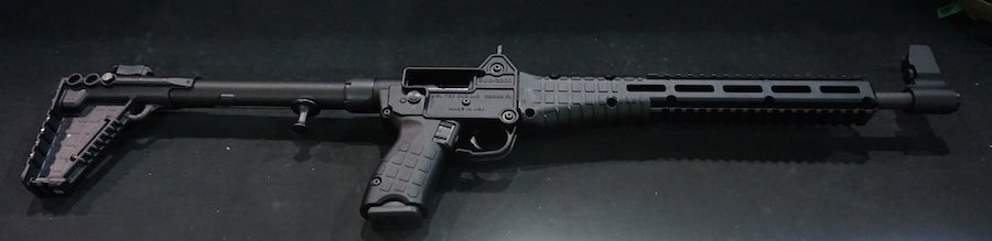 Added texture throughout the gun makes this carbine more ergonomic.