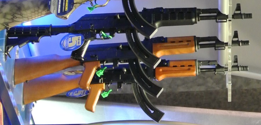Mossberg Patriots and AKs–SHOT Show