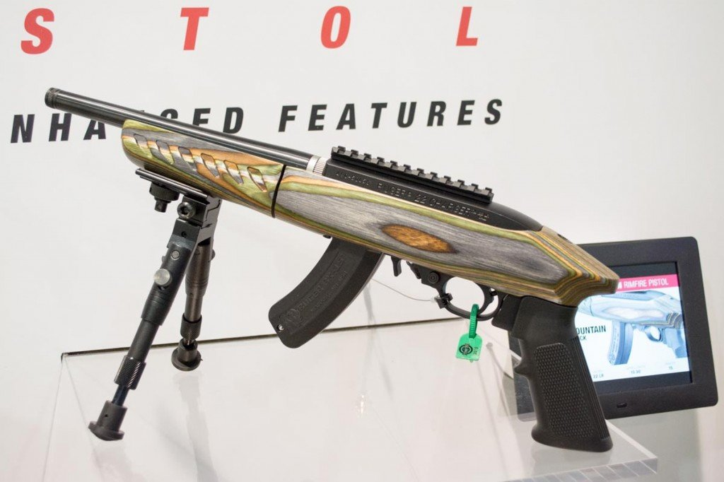Ruger's new Charger Takedown Model