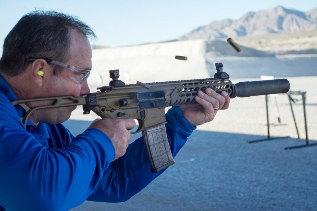 You can't buy happiness, but you can get a good dose shooting a suppressed MCX in full auto.