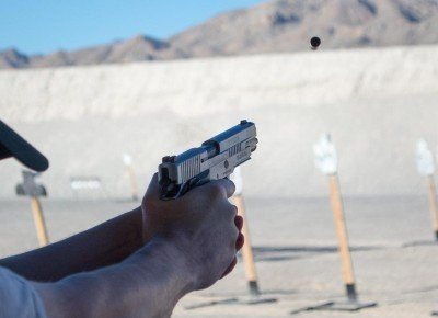 While the P220 10mm shoots softly, it's still a 10mm!