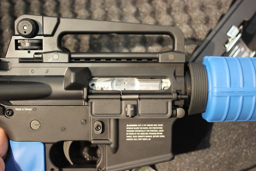 Gun vs  Gun Training Rifles - Umarex's T4E AR-15 Shoots Paintballs