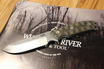 For those who want a more tactical knife, White River has been working with other designers to bring in more options.