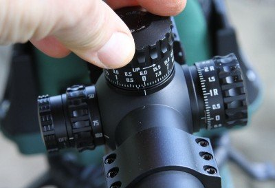 Dialing a scope like the XTR II is much better than using holdover. But it takes practice.