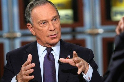 Former New York City mayor Michael Bloomberg wants to educate journalists about firearms.  (Photo: NBC).