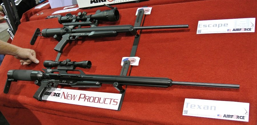 45 Cal 800fps Air Gun Protects Your Nuts - AirForce Rifles - SHOT ... f876dfe80