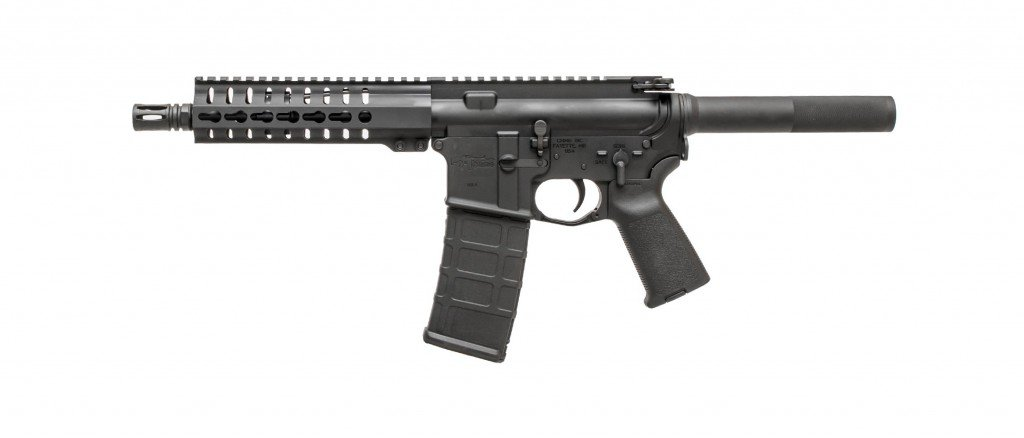 The CMMG Mk4 in its factory configuration.
