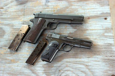 A 1911 made in 1913 and a 1903 made in 1916. Which came first?