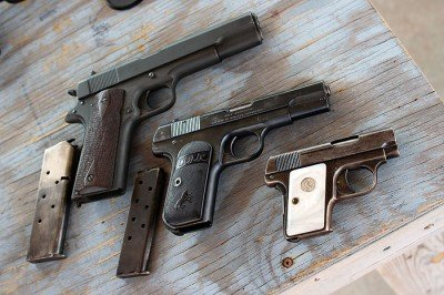 A bit of for shadowing here? 1911, 1903 and 1905.