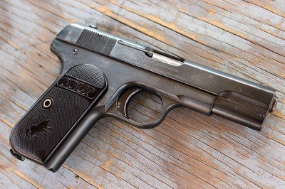 It is easy to see some of the lines that John Browning carried on into the 1911.