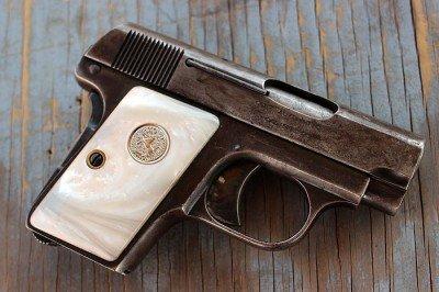 The Colt 1908 Vest Pocket.