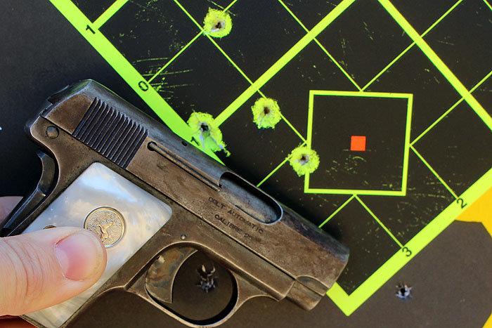Shooting History: Colt 1908 Vest Pocket-Old Gun Review - GunsAmerica