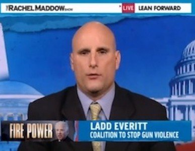 Ladd Everitt from the Coalition to Stop Gun Violence.  (Photo: MSNBC)