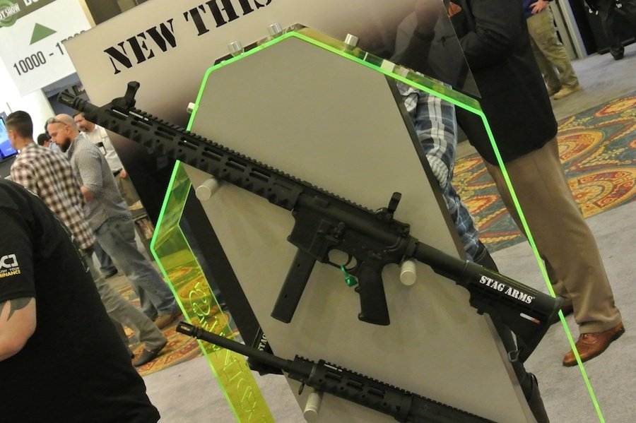 9mm Duty Rifles Right and Left Hand – Stag Arms–SHOT Show 2015