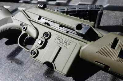 The controls on the SU16 will be familiar to those accustomed to the AR, though the charging handle is different.