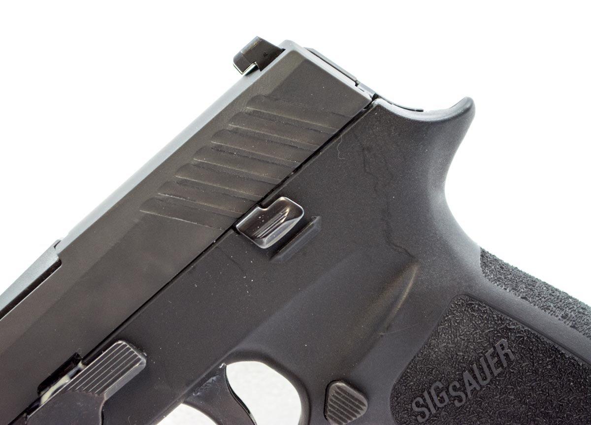 New Striker Pistol From Sig Sauer - P320 - Full Gun Review