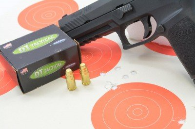 These Doubletap Ammunition FMJ loads were exceptionally accurate from the P320