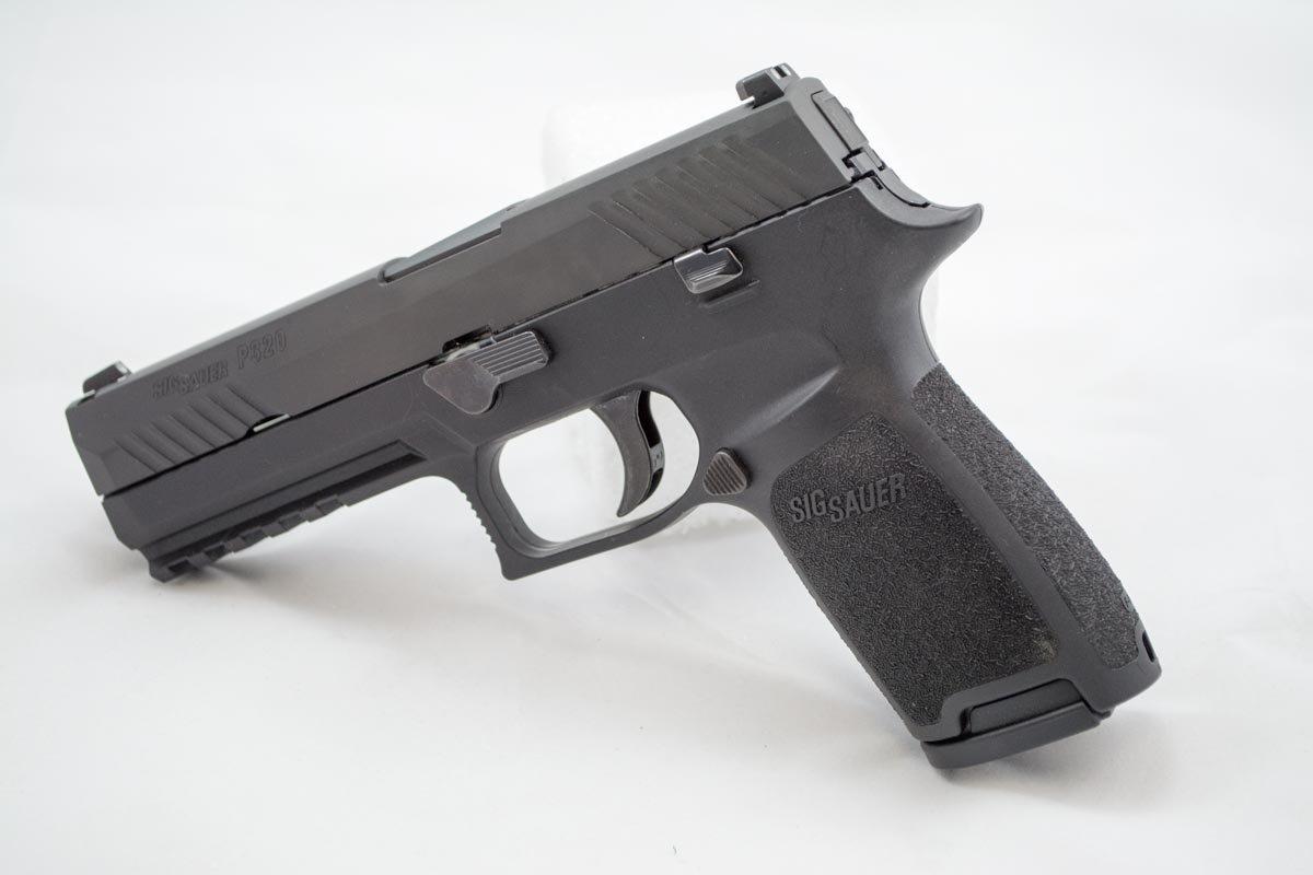 New Striker Pistol From Sig Sauer – P320 – Full Gun Review