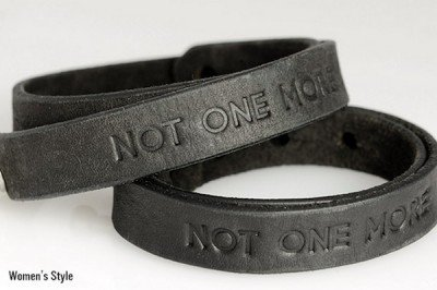 """Will you be purchasing a """"Not one More"""" bracelet? (Photo: Everytown)"""
