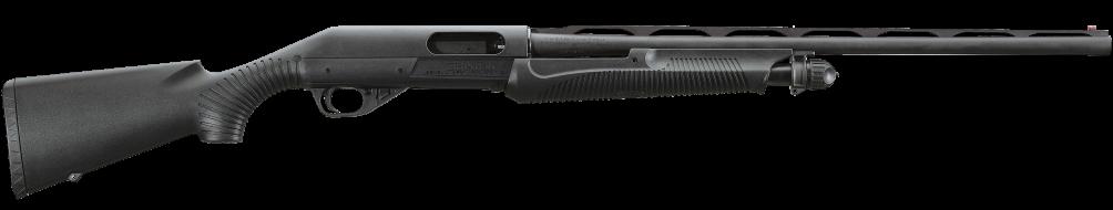 The Benelli Nova is a great pump action shotgun.