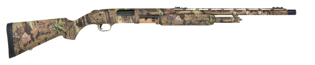 The base model of the Mossberg turkey gun.  Other stocks and triggers are available.