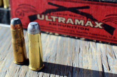 Winchester on left Ultramax on right. All groups were shot with Ultramax.