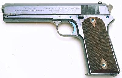 The 1905 Colt.