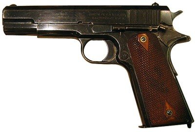 The Colt 1910. A few minor changes and this is a 1911.
